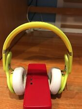 Beats by dre neon yellow mixers