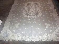 "Ivory lace Coornucopia design Tablecloth 60"" x 84"""
