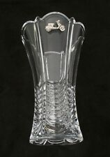 Vespa Scooter Vase Flower/Table Cut Crystal Glass Vase Biker Gift  384