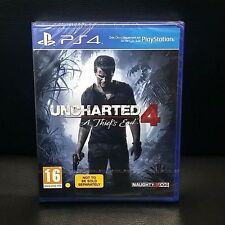 Uncharted 4 A Thiefs End PS4 Game - PAL - Ship with tracking