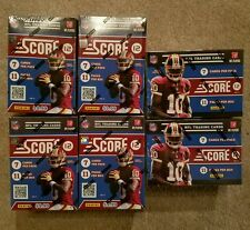 (6 Boxes) 2012 NFL Score Sealed Box : Russell Wilson Andrew Luck Rookie auto?