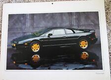 1994 Lotus Esprit 2 dr car print (black)