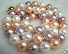 8MM Multicolor Südsee Shell perlen Halskette 46cm