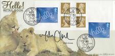 (74284) GB Benham FDC MARTIN CLUNES SIGNED Greetings Hello Booklet Waverton 2003