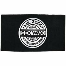 Sex Wax Beach Towel in Black