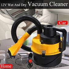 12V Auto Car Portable Wet Dry Vacuum Cleaner Hoover Air Pump Handheld Inflator