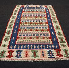 Orient Teppich Kelim 184 x 124 cm Kilim Handgewebt Perserteppich Carpet Rug