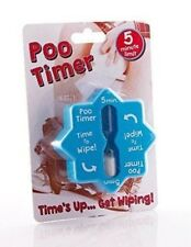 Poo Timer, bathroom time checker joke adult gift for secret Santa OT2054
