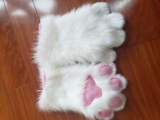 Fursuit Paws White