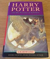 Harry Potter And The Prisoner Of Azkaban Hardback Book First Edition With Errors