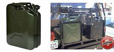 (1) 5 Gal 20L Gasoline Gas Fuel Caddy Tank MOUNT NOT INCLUDED New Free Shipping