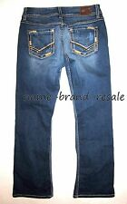 BKE CULTURE Bootcut JEANS Juniors Womens 29R 29 R Faded Wash Boot BUCKLE
