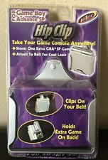 NEW 2003 Intec Gameboy Advance SP Hip Clip SEALED In Original Packaging