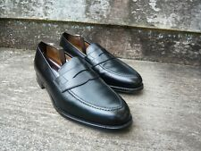CROCKETT & JONES LOAFERS – BLACK – UK 10 – WILTON - SUPERB CONDITION
