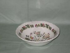 Adams Ironstone Country Meadow Cereal, Soup or Dessert Bowl