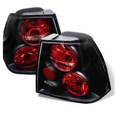 Volkswagen 99-04 Jetta MK4 Black Tail Lights Brake Lamp Sedan GLI GLX GLS GL TDI
