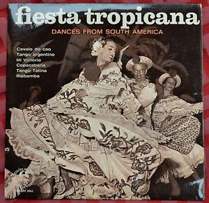 """Fiesta Tropicana – Dances From South America 6 track 7"""" 33rpm EP – SMS 977"""