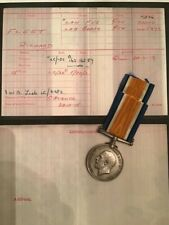 British Silver War Medal 3534 Pte Richard Fleet Lancashire Fusiliers