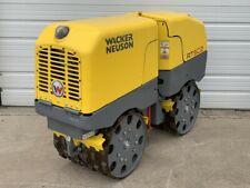 Wacker Neuson Rt82- Sc2 Drum Roller Rt Trench Compactor Tamper