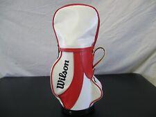 Wilson Golf Wine/Liquor Mini Golf Bag Red and White