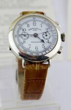 Vintage Eberhard & Co Chronograph 310-8 31008 cal. 14 inkl Papiere 925 Silber