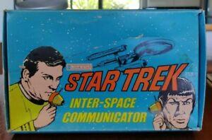 Lone Star Star Trek Inter Space Communicator Unused 1974 Captain Kirk Spock