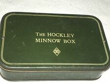 A Vintage Hockley Lure Box With Lures