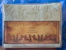 Queen 1200 Tc sea foam green Egyptian Comfort classic sheet set New