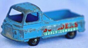 Vintage Matchbox Lesney 60A Morris J2 Pickup Blue body black wheels