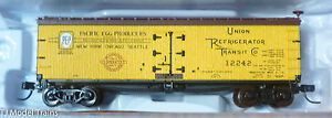 Atlas N #50002682 (Rd #12242) 40' Wood Reefer Pacific Cooperative (RTR)