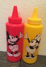 Disney Mickey and Minnie ketchup and mustard Perfect For Picnic Grill