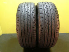 2 TIRES CONTINENTAL CROSS CONTACT LX SPORT  235/55/19 101H  85% LIFE #28835