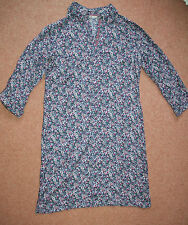 NEW! Sz 10 Ditzy floral shirt style Long Sleeve cotton cool dress Gift