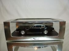 SPARK ASTON MARTIN DBS - BLACK 1:43 EXTREMELY RARE LIMITED ED - EXCELLENT IN BOX