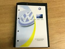 NEW BLANK VW VOLKSWAGEN SERVICE HISTORY BOOK COVERS ALL MODELS OEM PRODUCT VW+