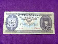 50 forint 1986 banknoten Hungary Ungarn banknote