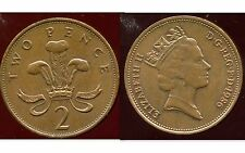 ROYAUME UNI  2 two pence  1986  ( bis )