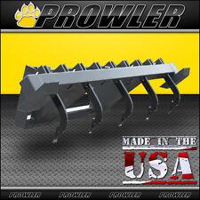 60 in Skid Steer Ripper Scarifier Attachment Adjustable Shanks, fits Bobcat, etc