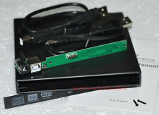 USB 2.0 CASE Enclosure per 12,7 mm UJ-220 UJ-120 UJ-850 BC-5500A IDE unità DVD