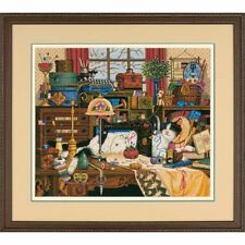 Dimensions Maggie The Messmaker Counted Cross Stitch Kit 3884