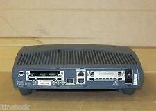 Cisco 1720 modular de un puerto con cable de red Fast Ethernet Router-Ccna Ccnp