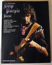 DEEP PURPLE BEST BAND SCORE JAPAN GUITAR TAB