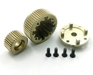 DR10 Dhawk Aluminum Diff Case and Idler Gear Hard Anodized For ProSC10 DB10 SR10