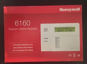 Honeywell / Ademco 6160 Custom Alpha Integrated Keypad (BRAND NEW & SEALED)