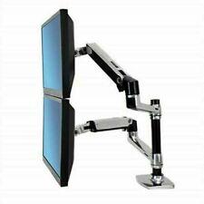 NEW Ergotron LX Dual Desk Mount Stacking Arm 45-248-026