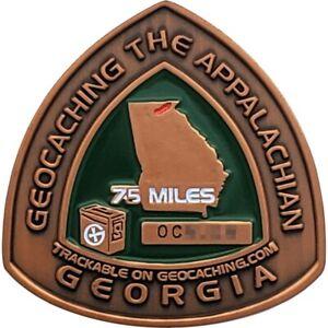 Appalachian Trail 2008 Geocoin - Georgia, Activated
