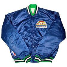 Vtg Very Rare NBA Denver Nuggets Satin Starter Jacket. Mens XL