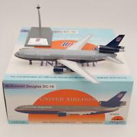 Inflight 1:200 United Airlines Douglas DC-10 N1835U Diecast Aircraft Model