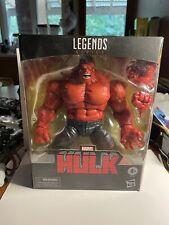 "Hasbro Marvel Legends Target Exclusive Red Hulk 6"" Action Figure NIB corner wear"