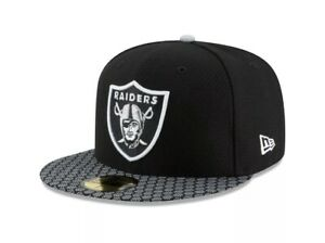 New Era Oakland Raiders NFL 17 Sideline 59fifty Fitted Cap Limited Edition 7 3/4